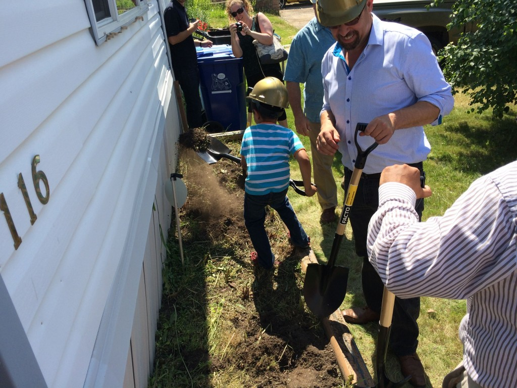 Groundbreaking at Greenbrier Bay
