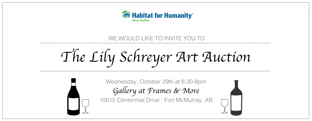 Lily Schreyer Silent Art Auction Header