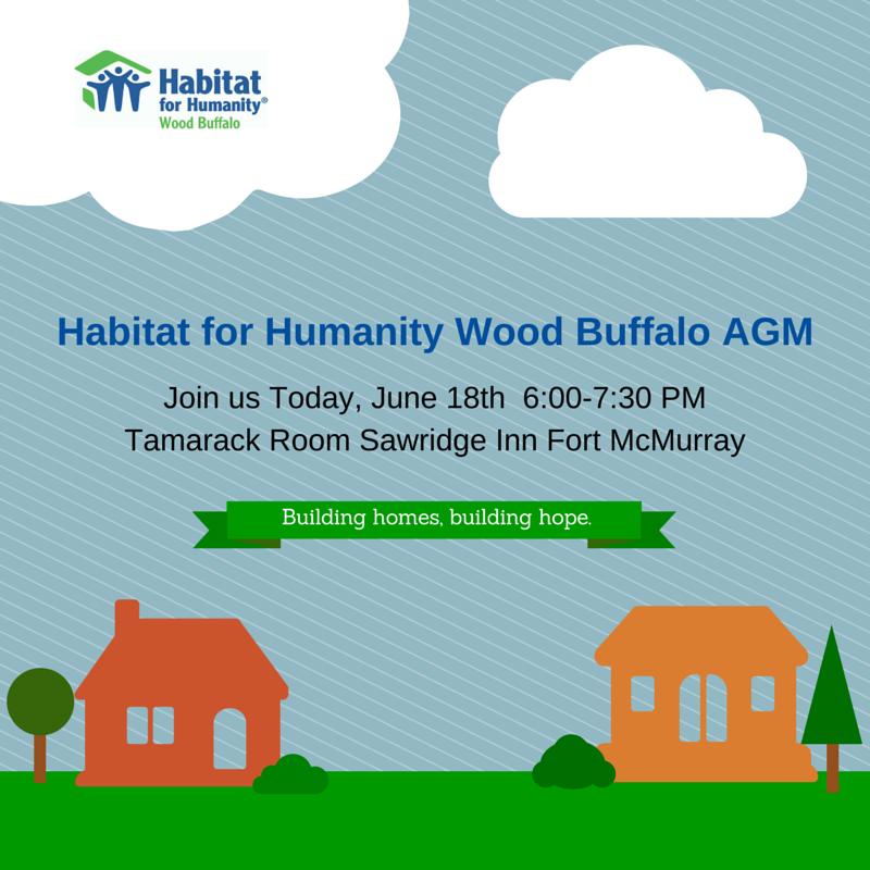 Habitat Wood Buffalo AGM June 2015