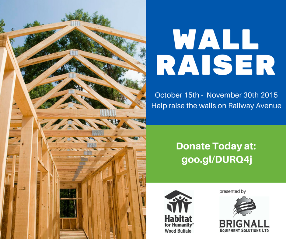 Railway Avenue Wall Raiser Fundraising Campaign