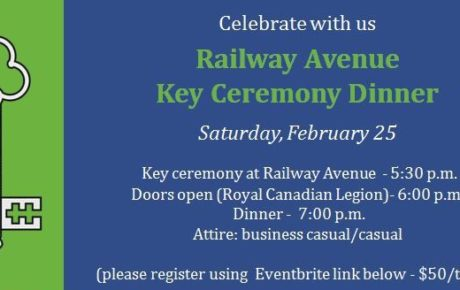 Cropped Railway Key Ceremony