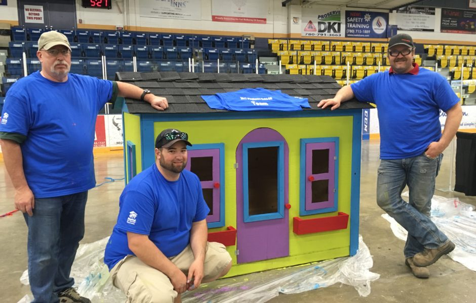 Playhouse Build Off & Auction @ Casman Centre | Fort McMurray | Alberta | Canada